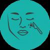 Usunięcie zmian skórnych twarzy